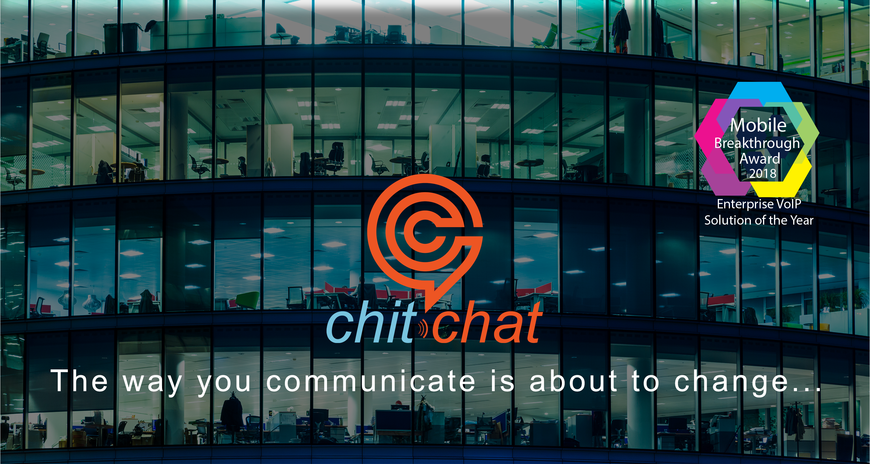 chitchat Speech Enabled VoIP website image with mobile award.png