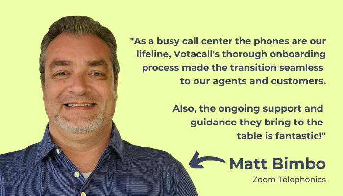 Matt Bimbo Customer Love Rectangle